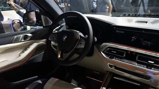 2018洛杉矶车展:全新一代宝马X7亮相
