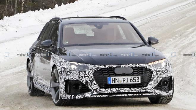 新款奥迪RS 4 Avant谍照 外观设计有调整
