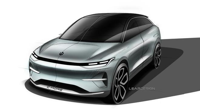 零跑汽车跨界SUV概念车设计图曝光 汽车殿堂