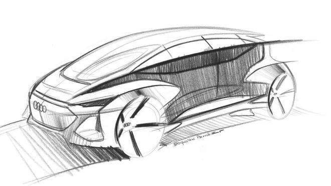 奥迪AI:me自动驾驶概念车将于4月15日亮相
