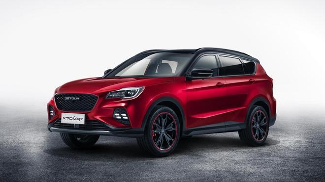 捷途X70 Coupe量产版官图发布 上海车展亮相