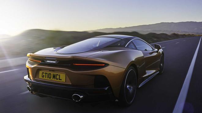 重新定义大型GT跑车 迈凯伦GT官图发布