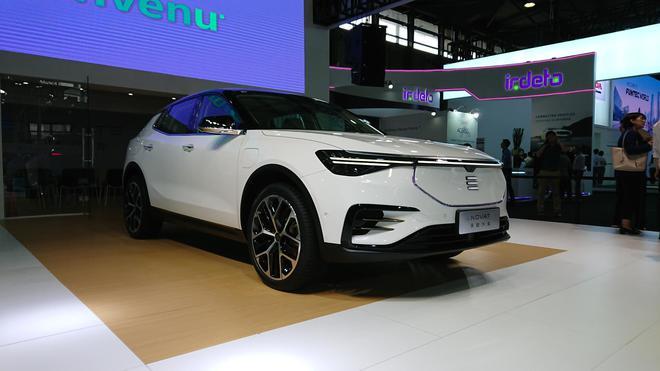 天际汽车首款纯电动SUV--ME7亮相2019亚洲CES