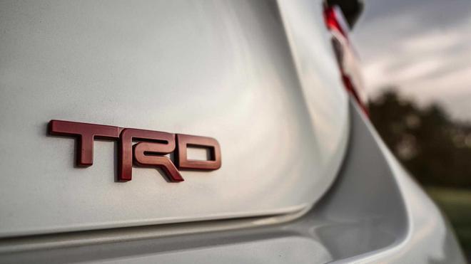 丰田86 TRD套装官图 手动挡车型专属
