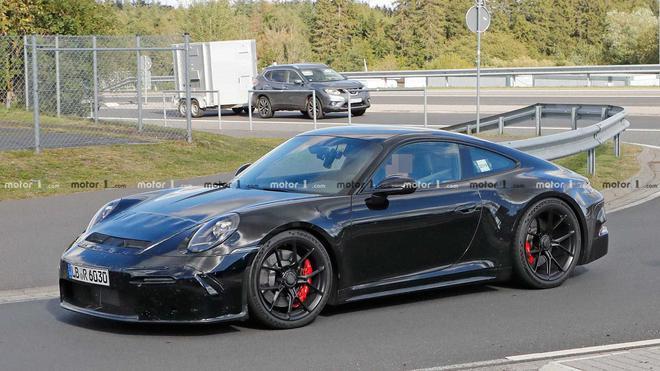 保时捷911 GT3 Touring谍照曝光 是否能采用手动变速箱?