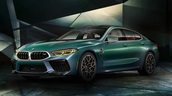 将推首发限量版 宝马M8 Gran Coupe官图发布