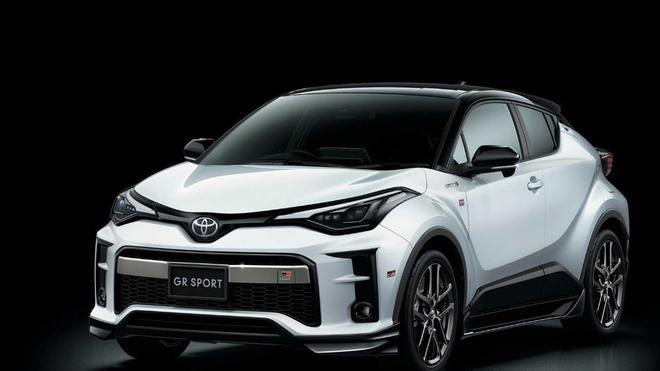 JDM福音 丰田C-HR GR Sport官图发布