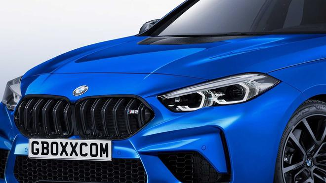 宝马M2 Gran Coupe渲染图曝光 造型凶悍/动力强劲