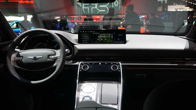 2020芝加哥车展 现代捷恩斯GV80首发亮相