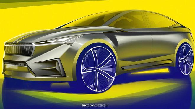 斯柯达首款电动SUV命名Enyaq 续航里程500公里
