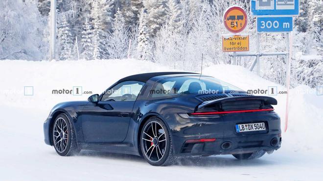 2020日内瓦车展:全新保时捷911 Targa GTS将发布