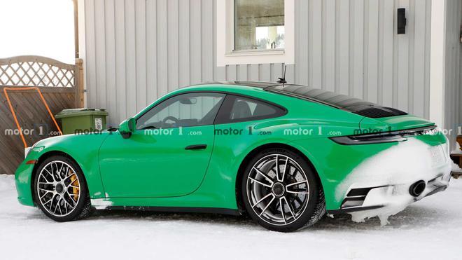 保时捷911 GTS谍照曝光 将在今年晚些时候发布