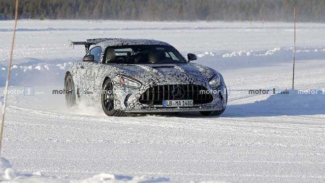 梅赛德斯-AMG GT R最新谍照曝光 2020年发布