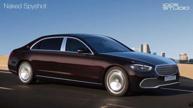 新款奔驰S级迈巴赫渲染图发布 设计更加流畅
