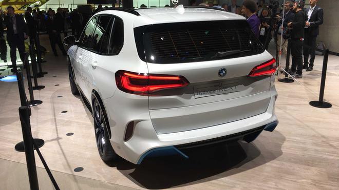2022款宝马X5燃料电池版信息曝光 丰田参与设计