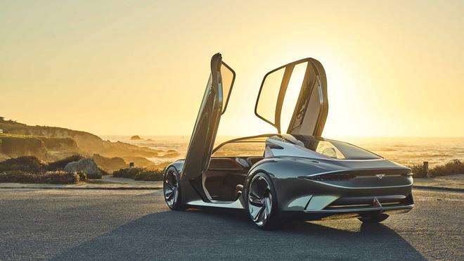宾利首款纯电动车效果图曝光 续航里程560公里