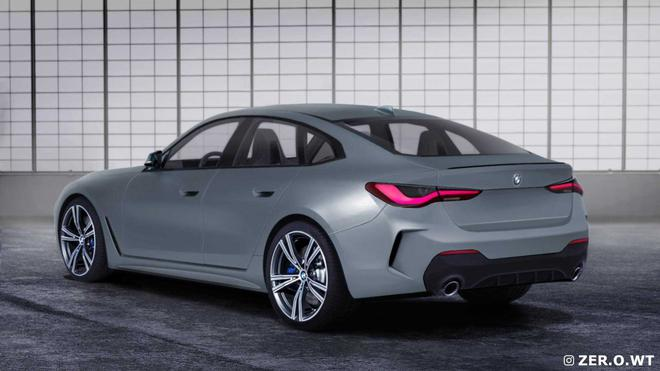 基于i4打造 新款宝马4系Gran Coupe车型信息曝光
