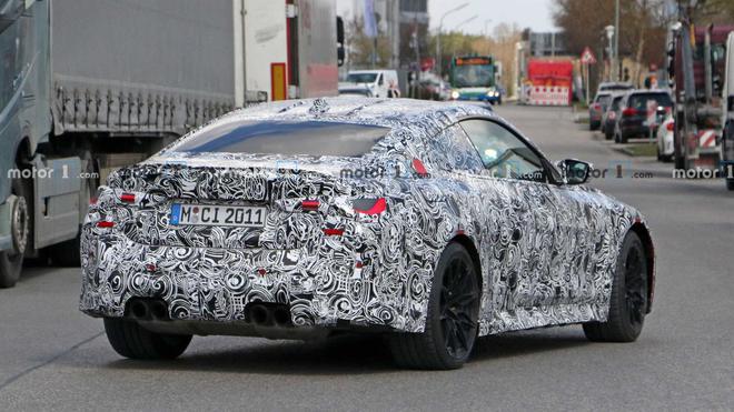 最早于今年年末发布 2021款宝马M4 Coupe谍照曝光
