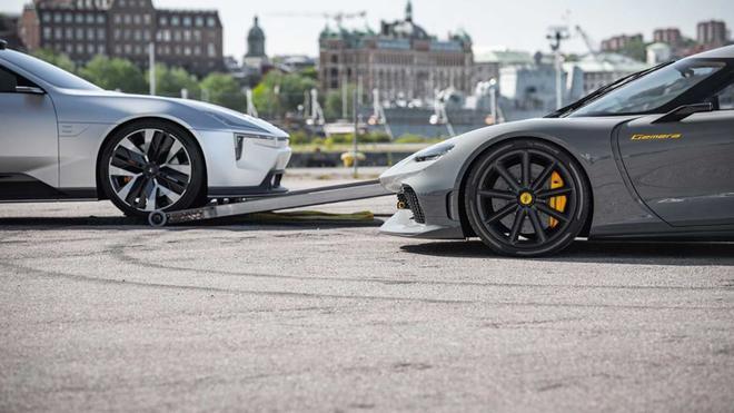 科尼赛克和极星官宣建立合作伙伴关系 或将联手打造极星3-新浪汽车