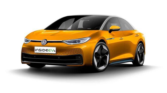 大众ID.5将推轿车和旅行版,成为Passat和Arteon的电动替代车型(非官方效果图)