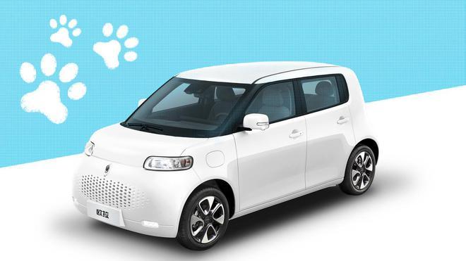 """再以动物命名 日本设计师解读以""""猫""""为灵感的长城欧拉新车"""