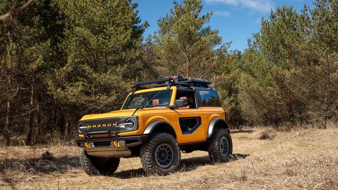 福特Bronco或于2021年投产 约20.4万起售