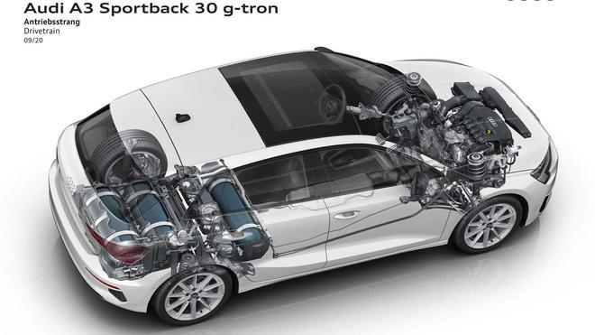 全新奥迪A3 G-Tron天然气版发布 高效率降排放/约24.7万起售
