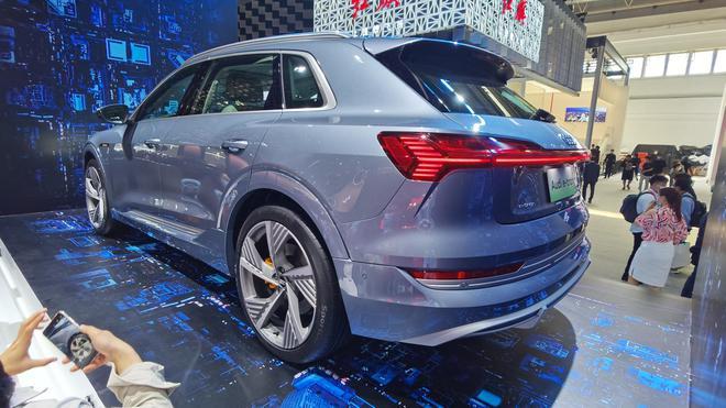 2020北京车展:一汽-大众奥迪e-tron正式发布