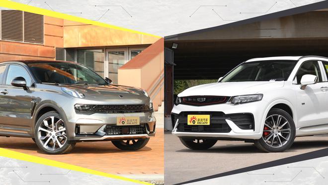 同平台两款车你更喜欢谁?领克05对比吉利星越