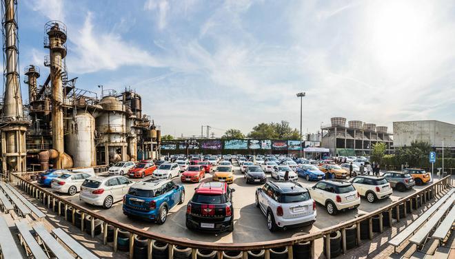 现场展出120余辆 BMW官方认证二手车