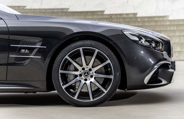奔驰SL将推两款特别版车型 今年3月正式亮相