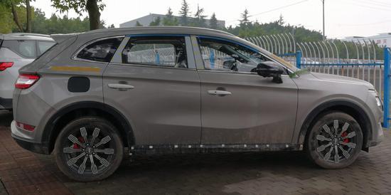陆风全新SUV谍照曝光 定位紧凑型SUV