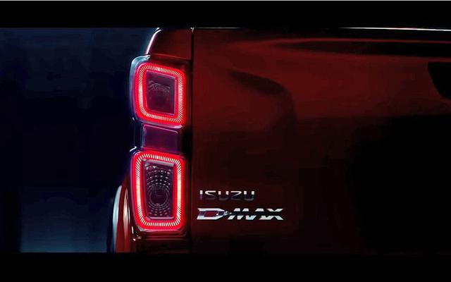 五十铃全新D-MAX预告图 预计10月11日发布