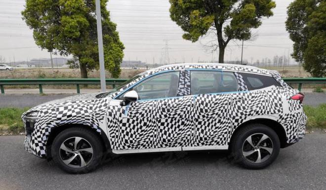 上海车展发布 众泰全新紧凑型SUV谍照