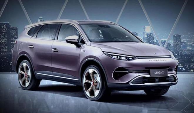 高端版比亚迪唐 腾势X将于广州车展亮相