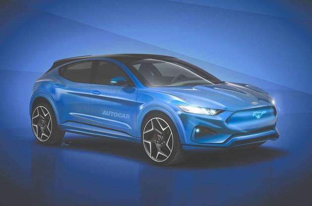 或命名为Mach-E 福特将推纯电跨界SUV