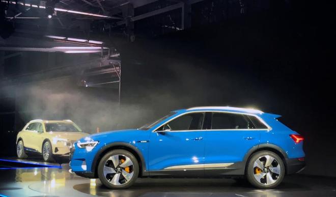 奥迪在特斯拉后院放了一枪 推出纯电动SUV e-tron