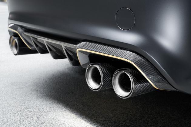 宝马M2概念车官图发布 采用轻量化设计
