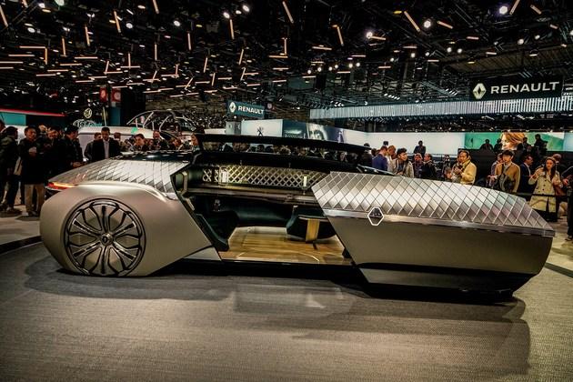 2018巴黎车展:雷诺EZ-ULTIMO概念车亮相