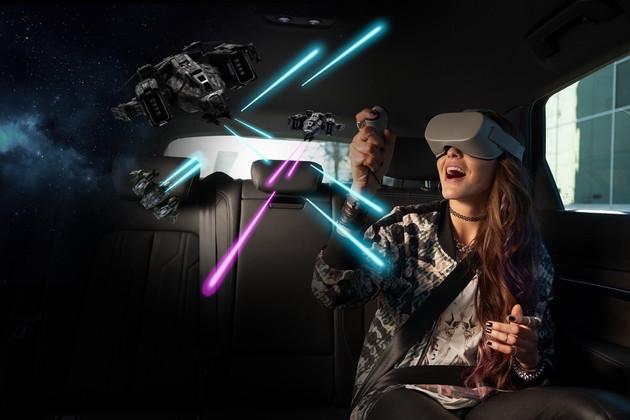 2019 CES:奥迪发布VR后排娱乐系统