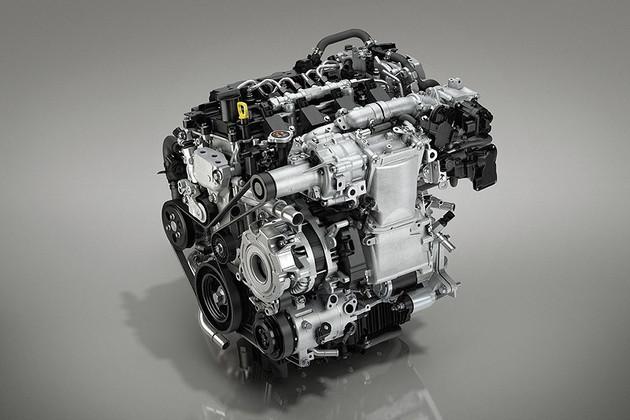 马自达全新SUV车型预告图 内瓦车展首发