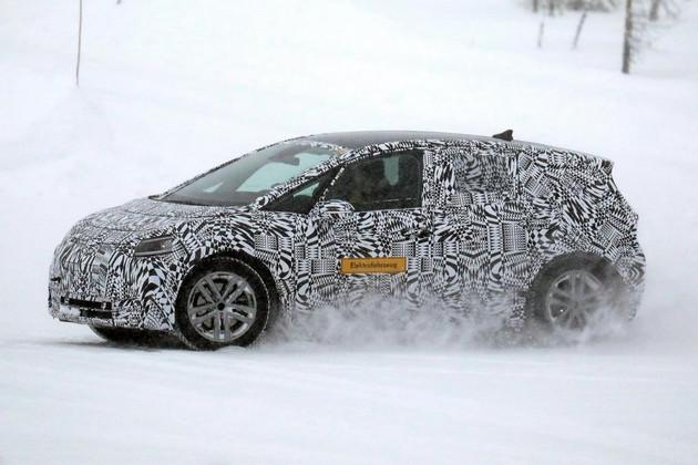 大众I.D.电动车冬季测试谍照 预计年底上市
