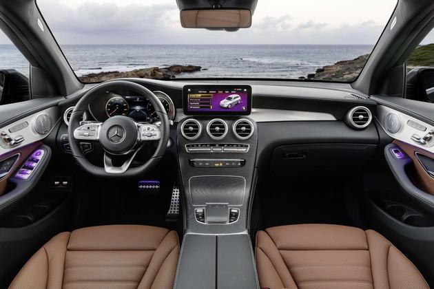 2020款梅赛德斯-奔驰GLC级 将搭载MBUX系统