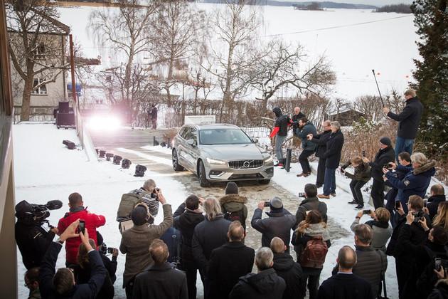 全新沃尔沃V60于2018年2月28日在瑞典首次亮相
