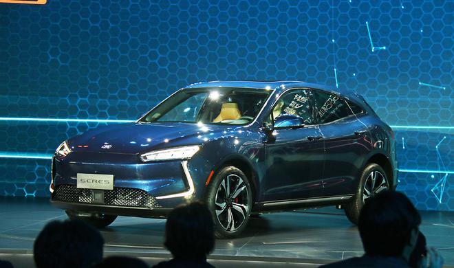 金康SERES品牌首款量产车型—SF5在重庆正式发布