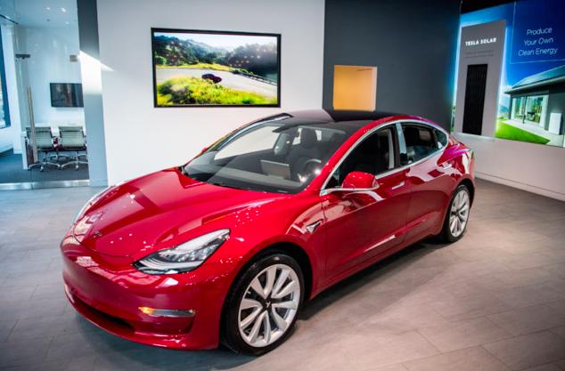 特斯拉Model 3全线上涨 半年内第