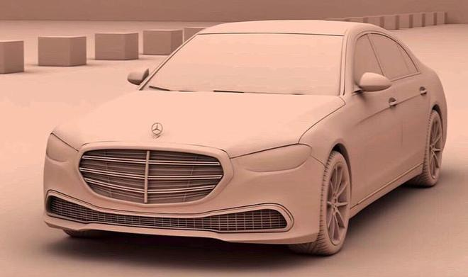 新家族外观设计 新一代奔驰S级假想图曝光