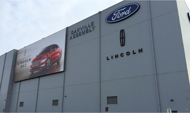 因林肯MKT等多款车型销量下滑 福特将在加拿大工厂裁员近200人