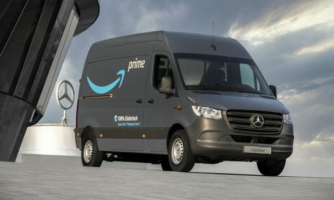 亚马逊向梅赛德斯订购1800辆电动货车以投放欧洲市场