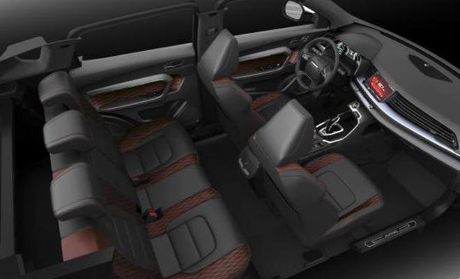 搭2.0T发动机/11月22日预售 哈弗H6 GT官图发布